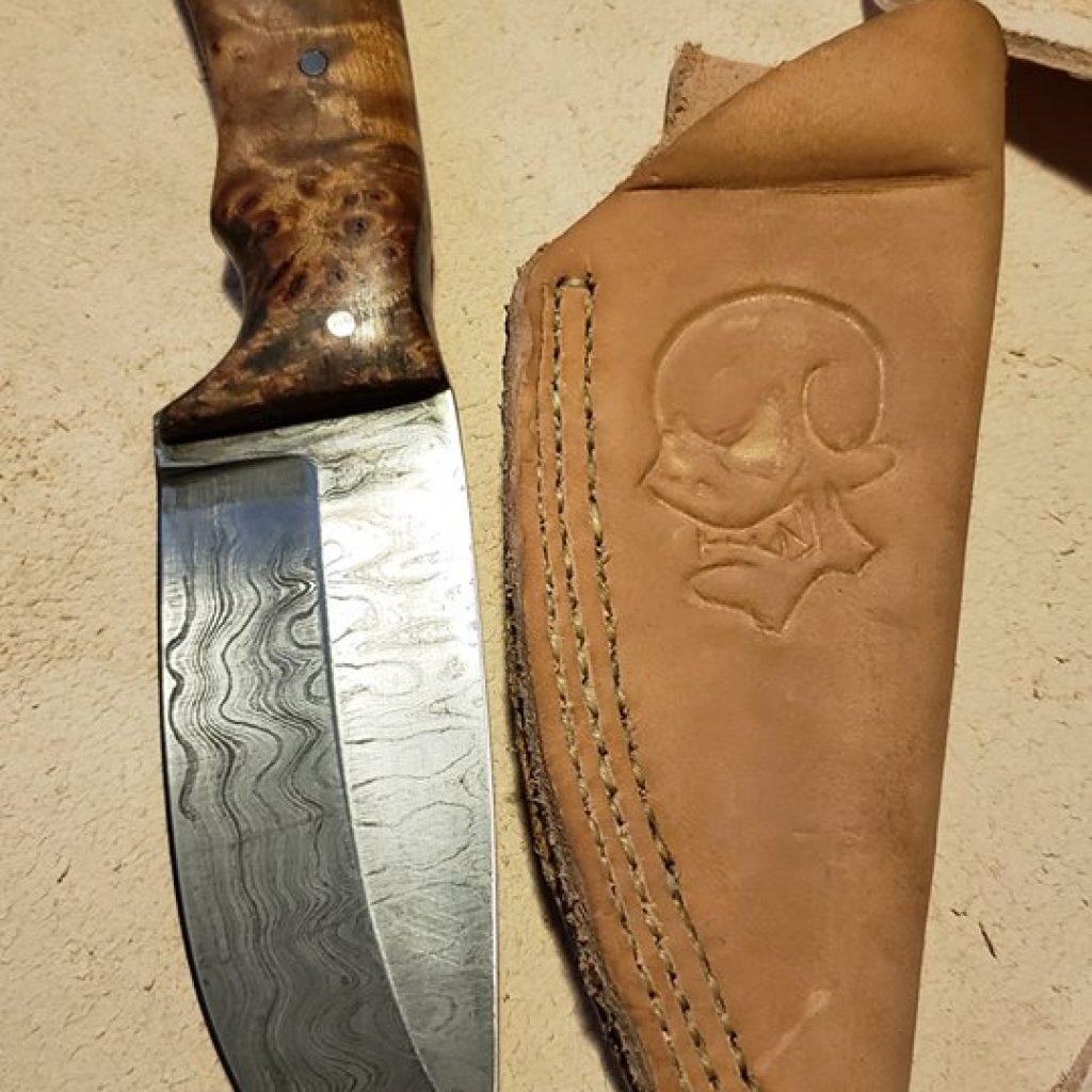 the first damacus knife that started this whole thing